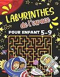 Labyrinthe de l'espace Pour Enfant 5-9: Livre Labyrinthe Pour Enfant 5-7 Et 7-9 ans. Cahier d'Activités Amusant Pour Enfants de 4-8 Et 6-9 ans. ... Jeux de Résolution de Problèmes Stimulants