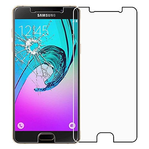 ebestStar - Cristal Templado Compatible con Samsung A3 2016 Galaxy SM-A310F Protector de Pantalla, Película Vidrio Protectora Ultrafina, Dureza 9H, Sin-Burbujas [Aparato: 134.5 x 65.2 x 7.3mm, 4.7'']