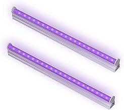 UV Led-balken, Bomcosy 6W UV Lamp, LED Black Light Bar met USB-Aansluiting en Schakelaar, Led Verlichting voor TV Terug, F...