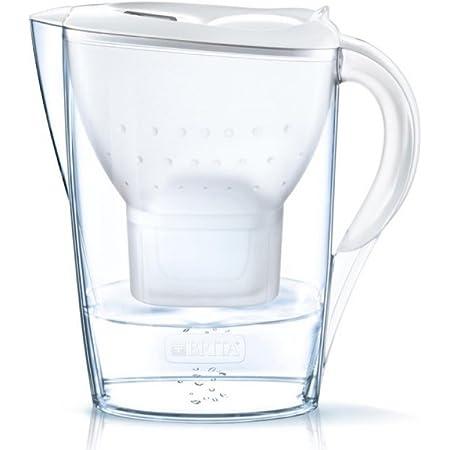 BRITA Carafe Marella Blanc + 2 filtres 2,4 L (1028185) Noir