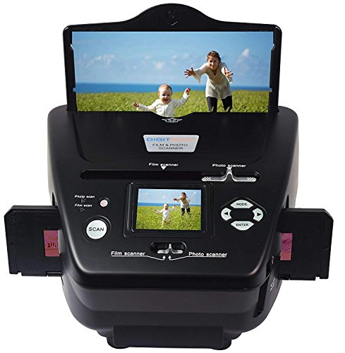 Fantastic Deal! DIGITNOW All-in-One High Resolution 16MP Film Scanner, with 2.4 LCD Screen Converts...