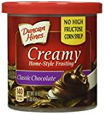 Duncan Hines Cake Frosting - Classic Chocolate - 16 oz