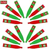Best Kazoos - Christmas Holiday Kazoos Assorted Styles, Bulk 24 Pack Review