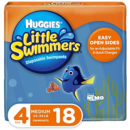 Huggies Little Swimmers, Disposable Swimpants, Size 4, 18 Ct