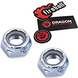 Fireball Dragon Kingpin Nuts X2 | for Skateboard & Longboard Trucks | Hardware Nuts with Beast Guarantee (Kingpin Nuts - 2X)