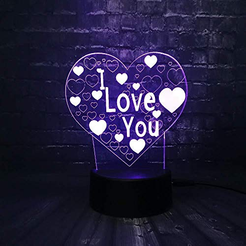 3D Night Light Led Night Light Desk Game Knight Proposes Heart Cage Light up Your Dreams for Bedroom Beside Table Decoration Toys Gifts for Kids with USB Charging, Colorful Color Change