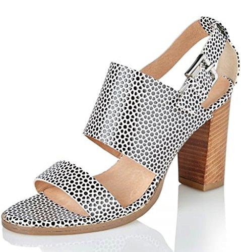 RavelGlide - Zapatos con tacón Mujer, Color Negro, Talla 42