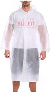 WUFAN Rain Poncho for Unisex Waterproof Stay Dry Raincoat