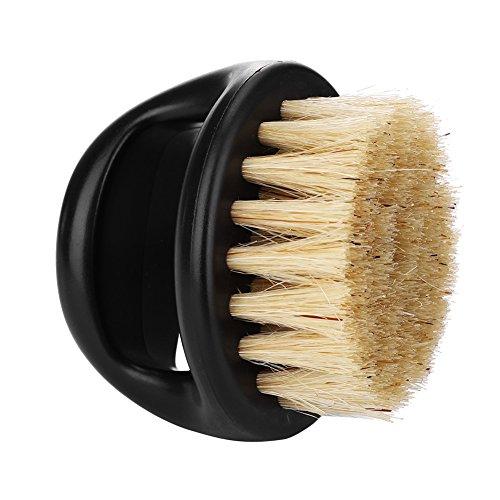 Shaving Brush, Men Facial Beard Cleaning Face Massager Groooming Appliance Mustache Trimming Salon Tool(#1)