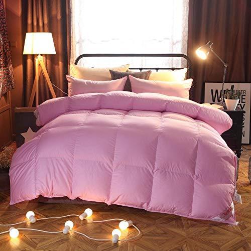 XINDUO Relleno/edredón nórdico,Algodón Grueso Abajo-Pink_150 * 200 (4 kg),Todas Las Estaciones Edredón de