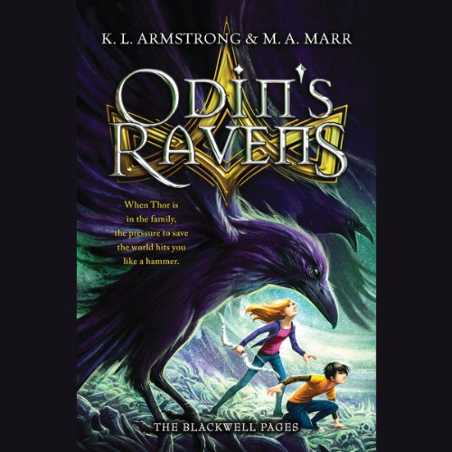 Odin's Ravens audiobook cover art