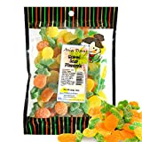 Snack Hawaii Tropical Pineapple Fruit Gummy Candy - Fruit-Flavored Sour Gummies - Tangy & Tart Summer Snack for Kids - Perfect for Parties, Hawaiian Candy Leis, Fun Dessert Toppings -16 oz. Package