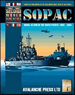 Second World War At Sea - SOPAC: Naval Action In The South Pacific 1942-1943