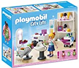 Playmobil Centro Comercial - City Life Salón de Belleza Playset, Color Multicolor (Playmobil 5487)