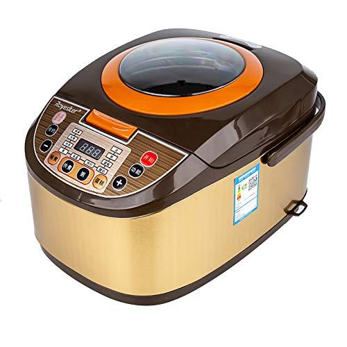 XIAOFEI Instant Cuisinier Autocuiseur Électrique Électronique Multifonction Cuisine Pot Programmable Lent Cuisinier Inoxydable Acier 5 litres