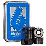 Birdhouse Grau ABEC 5 Skateboard Kugellager (One Size, Grau)