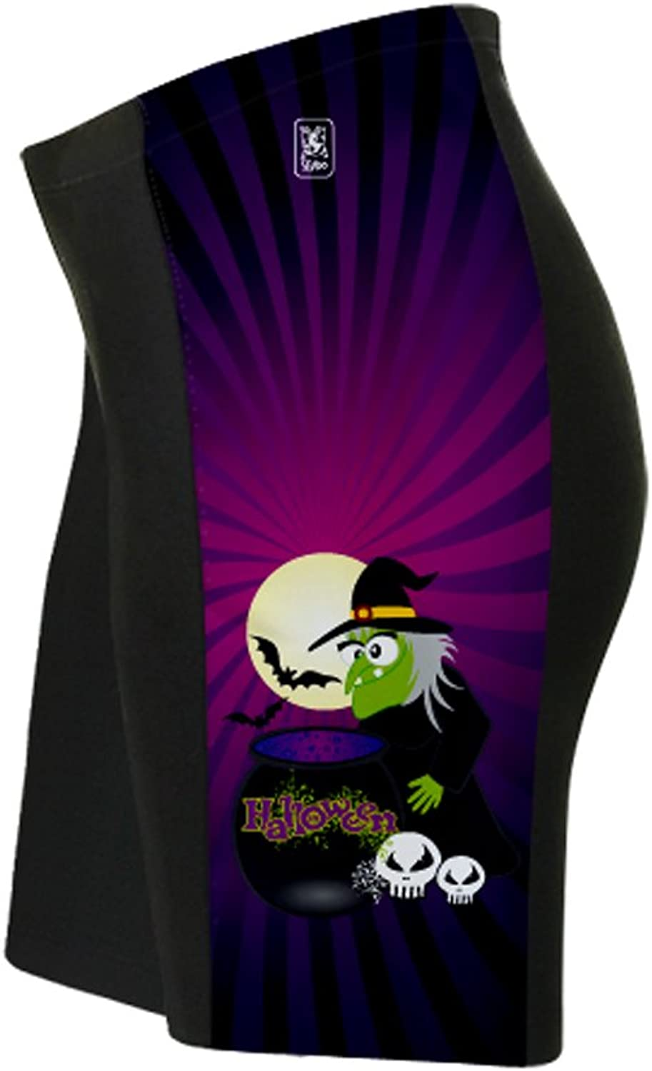 Halloween Witch Cycling Shorts for Women