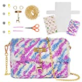 Needlepoint Kits for Beginners Make a Cute Crossbody Purse - DIY Sewing Kit - Cross Stitch Kits for Kids and Adults