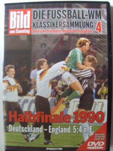 Die Fussball-WM ~ Klassikersammlung 4 ~ Halbfinale 1990 ~ Deutschland-England 5:4 n.E.