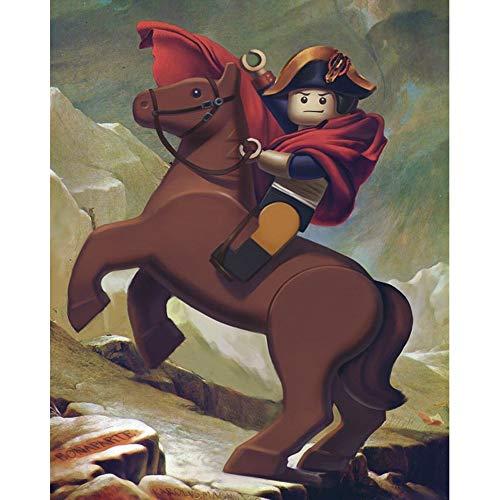 Puzzle Regalo Napoleón Madera Rompecabezas Mini Carácter Cómico Juguetes Educativos Adultos Juego 90 Piezas Infantil 0310 (Color : Napoleon)