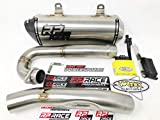 RP Race Performance Full Exhaust System + Vortex X10 ECU - Compatible with Yamaha YFZ450R - Off-Road Use
