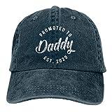 Promocionado a Daddy 2020 Hombres y Mujeres Animal Farm Snap Back Trucker Hat Gorra de béisbol Azul...