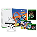 Xbox One S 1TB Konsole - Forza Horizon 3 Hot Wheels Bundle + Sea of Thieves & 2 Xbox Controller