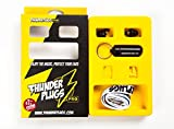 Thunderplugs Pro -26dB/-18dB Filtered Earplugs for Music