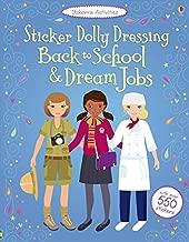 Sticker Dolly Dressing Back to School & Dream Jobs