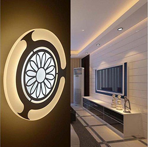 NIHE chambre moderne salon de personnalité d'éclairage créatif couloir puce LED lampe murale acrylique
