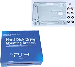 MuchBuy Hard Drive Mounting Kit Replacement Bracket for Sony PS3 Super Slim System Consoles CECH-400x Series