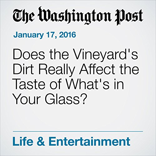 Does the Vineyard's Dirt Really Affect the Taste of What's in Your Glass? cover art