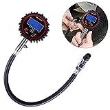 WINOMO Manómetro Medidor Digitales de Presión de Neumáticos 200 PSI con...