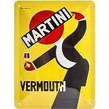 Nostalgic-Art 26253 MARTINI – Vermouth Waiter Yellow –