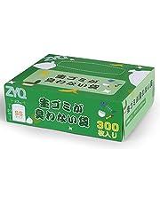 ZYQ 生ゴミが臭わない袋 ゴミ袋 SSサイズ 300枚入り 袋の口が大きい 生ゴミ処理袋 におわない袋 生ゴミ 消臭袋 (横23cm×縦27cm)