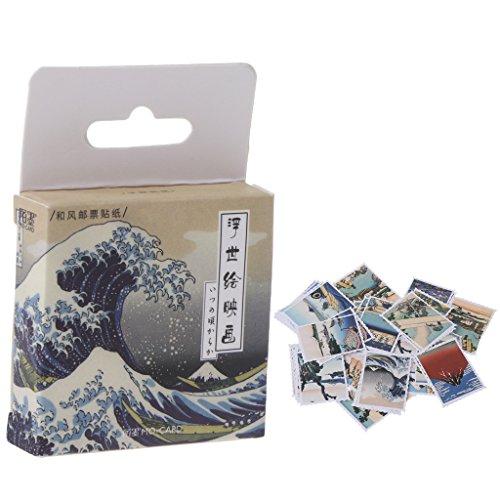 Manyo Papier Sticker/Dekoration DIY Kalender Scrapbooking/Briefpapier Aufkleber, Kawaii, selbstklebend