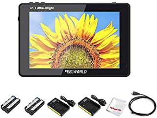 FEELWORLD LUT7S 7 Inch 2200nit Ultra Bright Touch Screen DSLR Camera Video Field Monitor, 3D Lut 1920x1200 with 4K HDMI 3G...