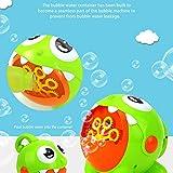 Máquina de burbuja, soplador de burbujas juguetes para niños pequeños bebé interior al aire libre, automático 3000 burbujas por minuto, batería recargable incorporada Dragon Bubble Maker