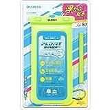 LEPLUS 6インチ対応 浮く防水・防塵ケース「FLOAT SAVER」 ブルー LP-SM60WP01BL