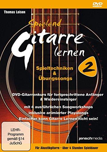 Spielend Gitarre Lernen 2 - Aufbaukurs für Akustikgitarre (DVD)