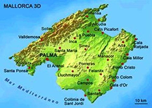 3D Postkarte Mallorca