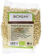 Bionsan Proteína de Soja Texturizada Fina Ecológica   6 Bolsas de 200 gr   Total: 1200 gr
