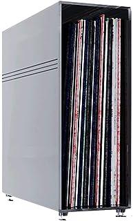N/Z Muebles para el hogar Caja de Almacenamiento de Discos de Vinilo Caja de Discos LP Almacenamiento de CD/DVD Estante de...
