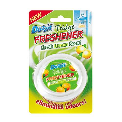 Duzzit 6 x Fridge Freshener Fresh Lemon Scented Fridge Deodoriser removed odours balls
