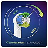 Oral-B Precision Clean Electric Toothbrush Head with CleanMaximiser Technology, Excess Plaque Remover, Pack of 12, White