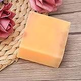 Jabón hidratante, Jabón para la piel de papaya, Jabón de belleza para la ducha Eliminación de maquillaje facial