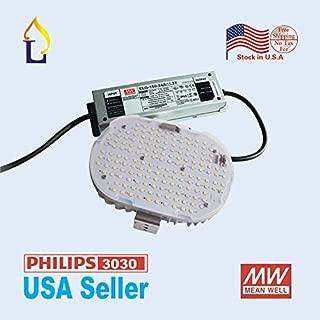 (6 pack) LED Retrofit Kit light road street light shoebox 100W parking lot lamp using SMD3030 AC100-277V