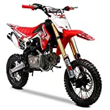 M2R Racing RF140 S2 140cc 14/12 82cm Rosso Pit Bike, Unspecified