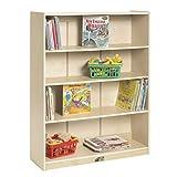 ECR4Kids-ELR-17101 Birch Bookcase with Adjustable Shelves, Wood Book Shelf Organizer for Kids, 3 Shelf, Natural, 48