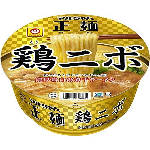 マルちゃん正麺 カップ 鶏ニボ 122g ×12個